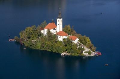 SLOVENYA - EKIM´DE BLED GÖLÜ